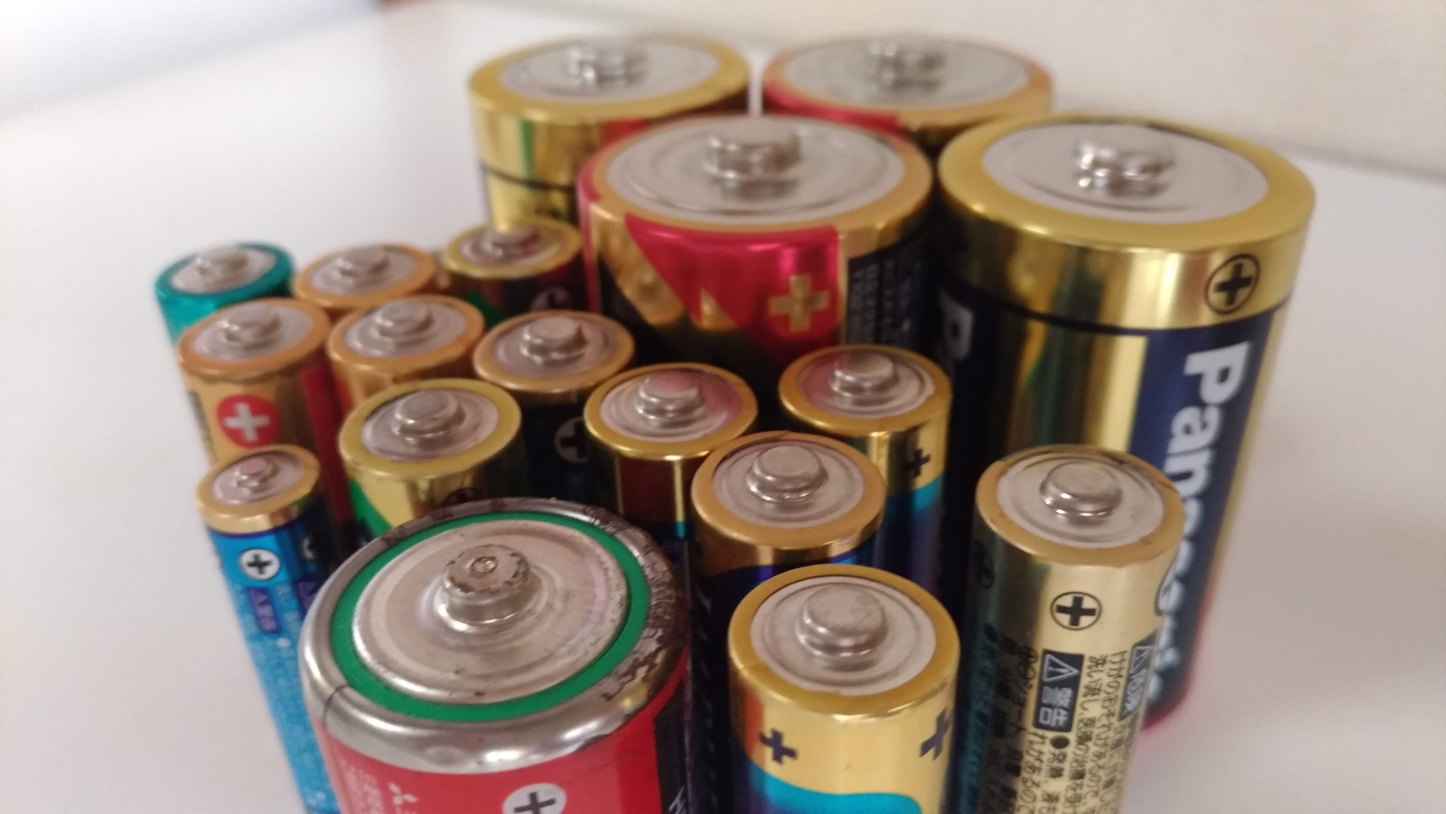方 捨て リチウム バッテリー